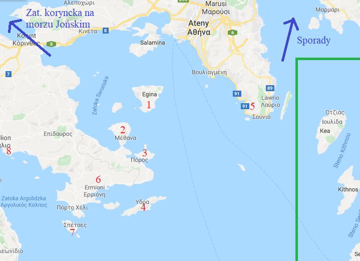 Grecja – Zatoka Sarońska