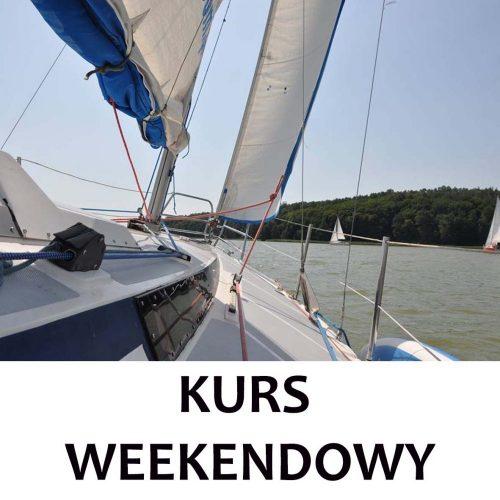profesjonalny kurs żeglarski weekendowy